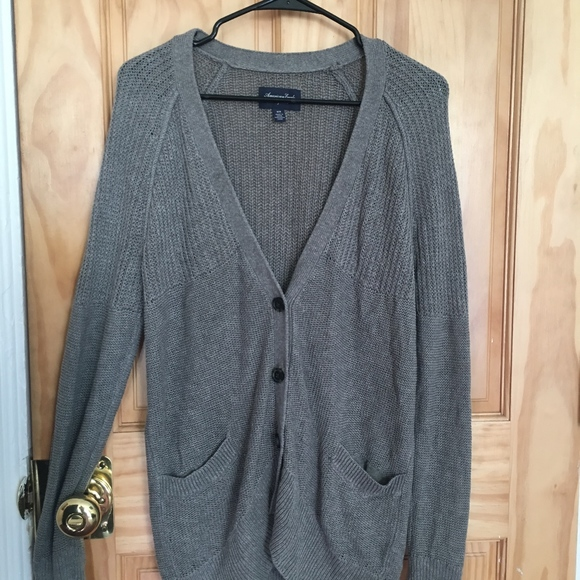 American Eagle Outfitters Sweaters - Cozy gray cardigan